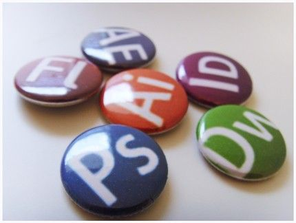 adobe creative suite 3 icons buttons set