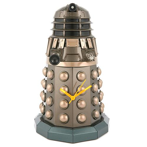 doctor who dalek illuminating clock