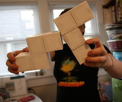 tetris game blocks salt pepper