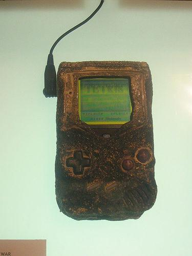 bombed out gameboy