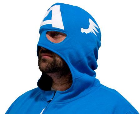 cool captain america costume hoodie