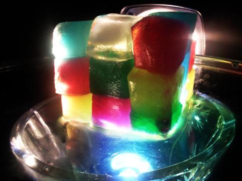 cool rubik's cube ice cube