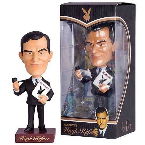 hugh hefner playboy bobble head