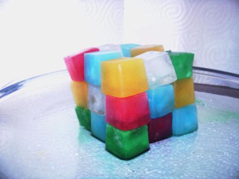 ice cube rubik's cube design