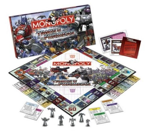 new transformers monopoly board game