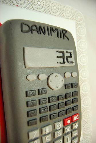 age calculator cake for danimir