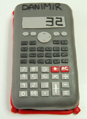age calculator cake