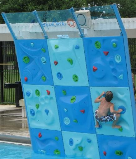 aquaclimb closeup