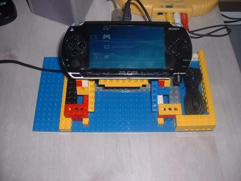 lego psp stand