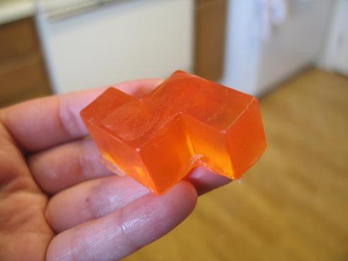 tetris bricks soap