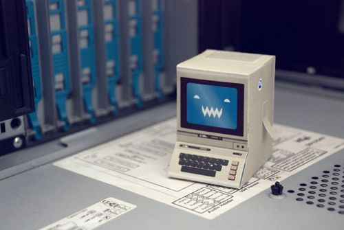 Cutouts of oldschool computers 2