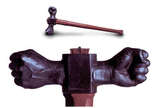 Iron fist hammer