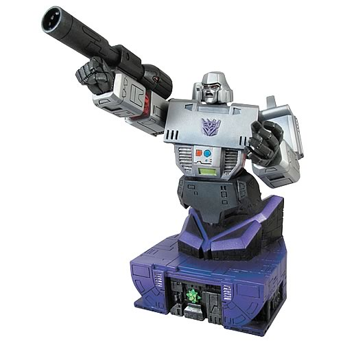 Megatron Bust Robot 2