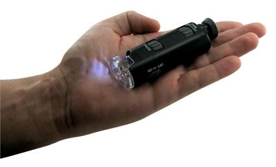 Pocket Microscope  in Hand