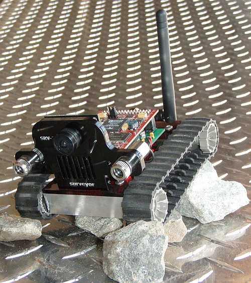 SRV 1 Mobile Robot 5