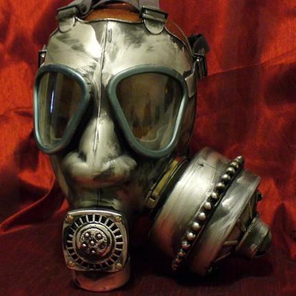 Steampunk helmet 1