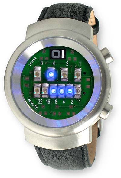 The LED Binary Watch