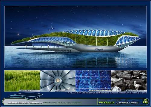 Physalia The Amphibian Ship As Nora Send To Save The World Gadget Him - Physalia-a-huge-floating-garden-by-vincent-callebaut
