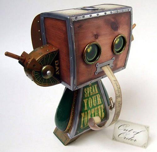 Steampunk Fortune Teller