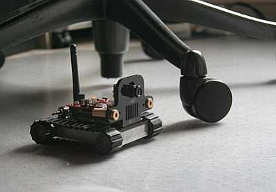 SRV1 Blackfin Mobile Robot 1