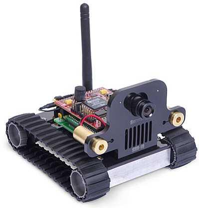 SRV1 Blackfin Mobile Robot