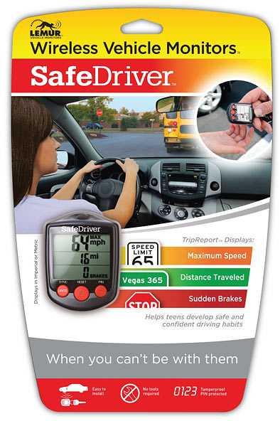 Safedriver Wireless Vehicle Monitor 2
