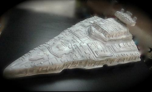 Star-Fleet-Destroyer cake