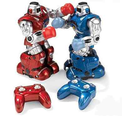 Robotic Pugilist1