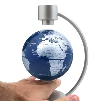 Levitatting globes1