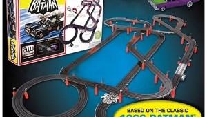 Batman Slot Car Race Track Set Is Pretty Awesome
