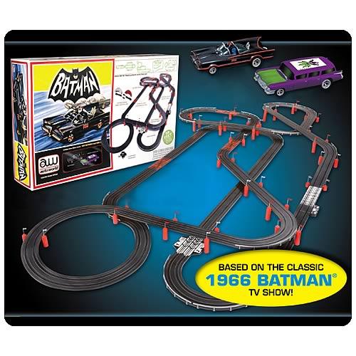 Batman Slot Car Race Track Set Is Pretty Awesome
