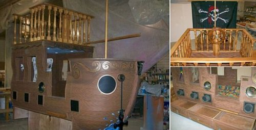 pirate bed design for geeks