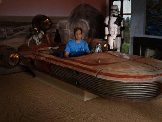 star wars landspeeder bed design for geeks