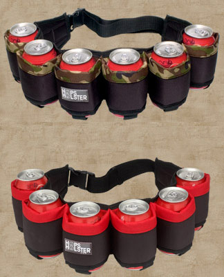 Hop Holster, A Fun Concept For A Can Holder-2