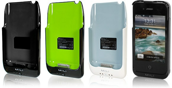 MiLi, An Ingenious Combo Of A Tough Case And An External Battery For iPhone-4