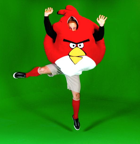 funny angry birds costumes design