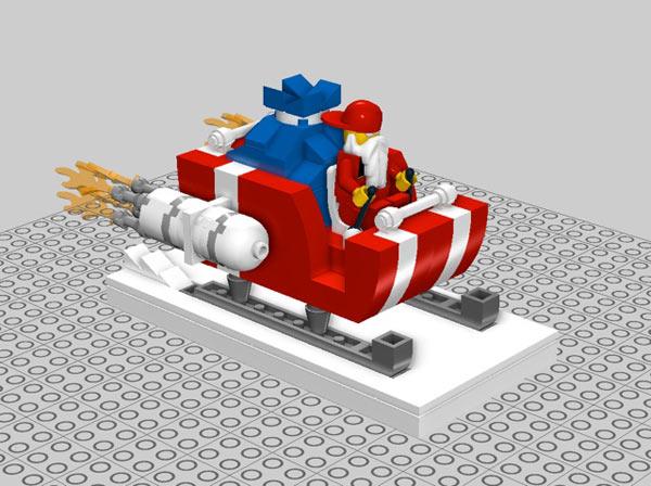 Lego Santa's Sleigh