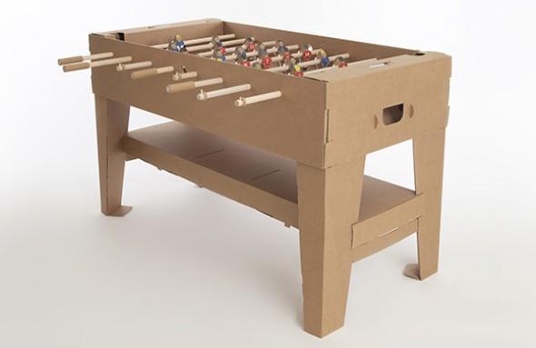 Cardboard Foosball Table 2