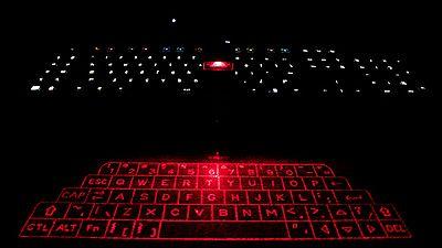 bluetooth virtual keyboard laser