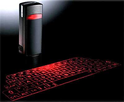 virtual computer keyboard laser