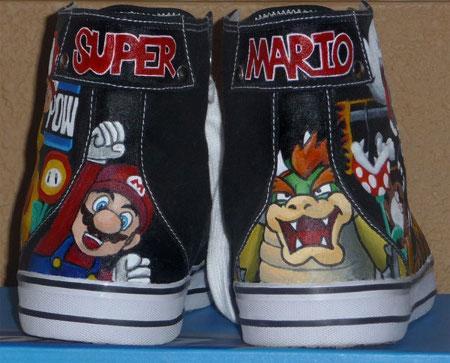 super mario bros shoes