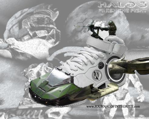 new halo shoes
