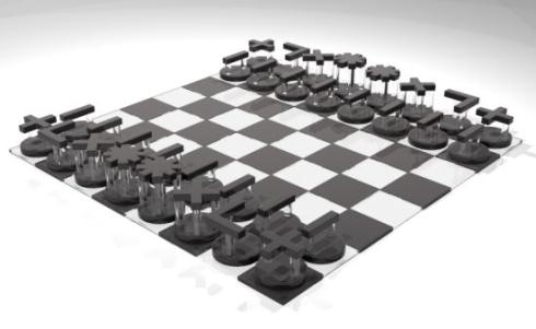 intuitive chess set full