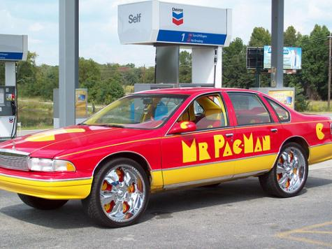 pacman car front side