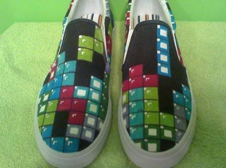 cool tetris shoes