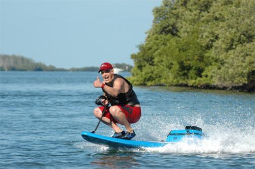weird surf board