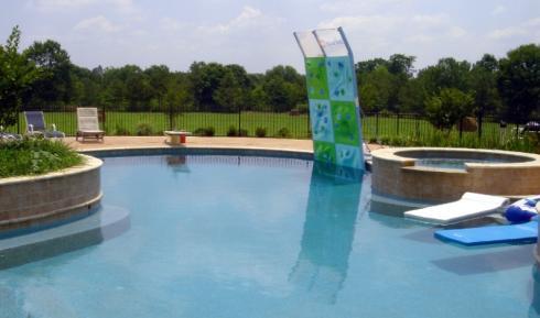 aquaclimb pool