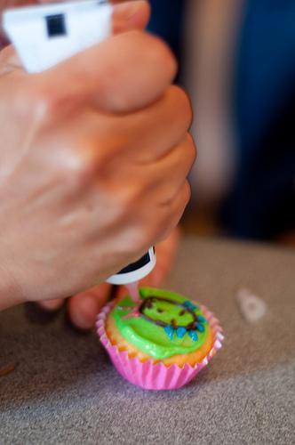 periodic table cupcake icing