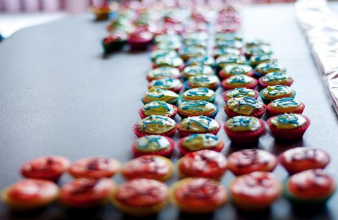 periodic table cupcake side