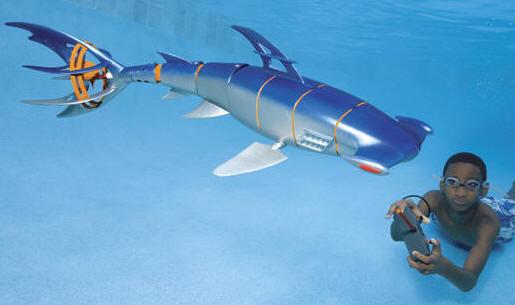Robotic Hammerhead Shark